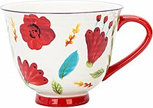 Kaffeebecher Schöner Blume gemaltes Cup,