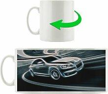 Kaffeebecher Schwarzer Audi