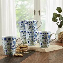 Kaffeebecher Set 6 tlg