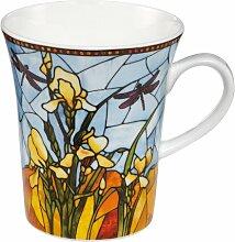 Kaffeebecher-Set Iris aus Bone China