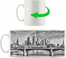 Kaffeebecher Skyline von Frankfurt am Main