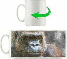 Kaffeebecher Stolzer Gorilla East Urban Home