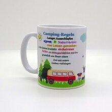Kaffeebecher & Tasse - Camping-Regeln (Bus)
