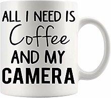 Kaffeebecher Tasse Frauen lustige Kamera
