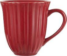 Kaffeebecher, Tasse STRAWBERRY rot für 300ml H.