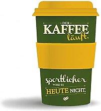 Kaffeebecher to go | Tasse mit Spruch |