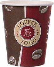 Kaffeebecher Topline, `Coffee to go`, Pappe