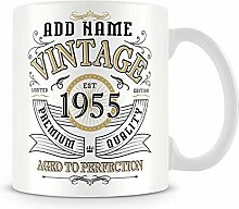 Kaffeebecher, Vintage 1955 Aged To Perfection,