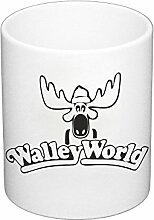 Kaffeebecher Walley World Elch Schweden Wald