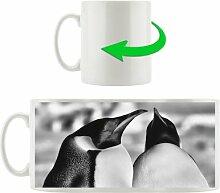 Kaffeebecher Zwei prachtvolle Kaiserpinguine