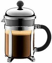 Kaffeebereiter Chambord 0,5l schwarz mit Metallsieb