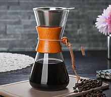 Kaffeebereiter Hochtemperaturbeständig Glas