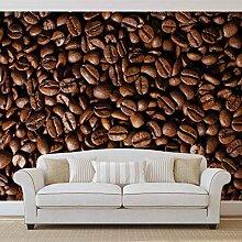 Kaffeebohnen - Wallsticker Warehouse - Fototapete - Tapete - Fotomural - Mural Wandbild - (182WM) - M - 104cm x 70.5cm - VLIES (EasyInstall) - 1 Piece