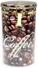 Kaffeedose COFFEEBEAN H. 19cm D. 11cm braun Eigenart (9,95 EUR / Stück)