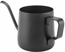 Kaffeekanne, 250 ml Edelstahl Schwanenhals