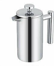 Kaffeekanne, 350 ml doppelwandige Kaffeemaschine