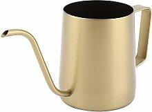 Kaffeekanne, 350 ml Edelstahl Schwanenhals