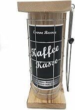 Kaffeekasse Eiserne Reserve Spardose incl. Säge