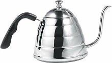Kaffeekessel, 900 ml 304 Edelstahl über Kaffee