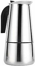 Kaffeemaschine Topf, Mokka-Kanne, Edelstahl