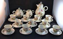 Kaffeeservice von Albert Vignaud für Limoges,