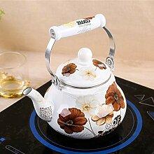 Kaffeesets Porzellan 1,5L Emaille Wasserkocher