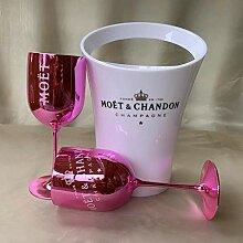 Kaffeetasse, Champagnerglas, Becher 2 Glas + 1