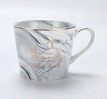 Kaffeetasse, Champagnerglas, Becher 400 Ml Keramik