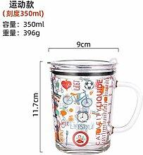 Kaffeetasse, Champagnerglas, Becher 410Ml Glas