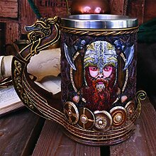 Kaffeetasse, Champagnerglas, Becher Viking Pirate