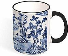 Kaffeetasse, chinesisches Porzellan, Delft, 325