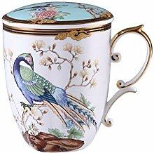 Kaffeetasse Ein hundert Vögel Segen chinesischen