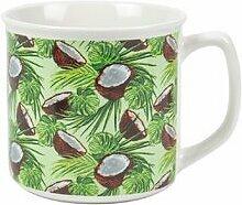 Kaffeetasse Esotica Kokosnuss aus Bone China