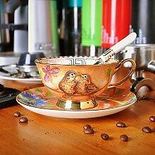 Kaffeetasse, europäischer Stil, restauriert