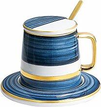Kaffeetasse Exquisite Porzellan-Tee-Schale mit