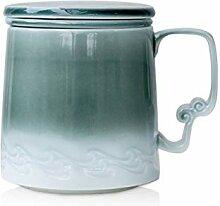 Kaffeetasse Filter-Tee-Schalen-Keramik-Becher mit