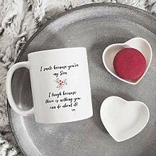 Kaffeetasse, Geschenkidee von Mama, Papa,