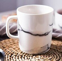 Kaffeetasse Keramik Tasse300 Ml Keramik Marmor