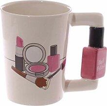Kaffeetasse Keramik Tasse3D Handbemalte Keramik