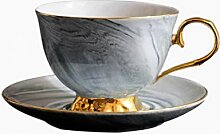 Kaffeetasse Keramik Tassehochwertige Marmor