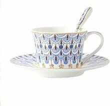 Kaffeetasse Keramikbecher Kit,Gold Gold Phnom