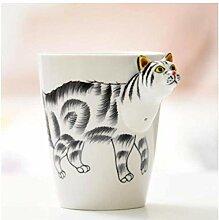 Kaffeetasse Keramikbecher Kit,Kreatives Geschenk