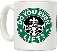 "Kaffeetasse mit der Aufschrift ""Do You Even"