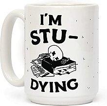 """Kaffeetasse mit der Aufschrift """"I'm"""