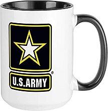 Kaffeetasse mit US-Armee-Motiv, personalisierbar,