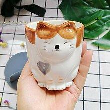 Kaffeetasse Mugs Geschenk Cartoon Katze Süße