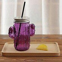 Kaffeetasse Mugs Geschenk Kreative 3D Kaktus Glas