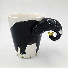 Kaffeetasse Mugs Geschenk Kreative Elefant Keramik
