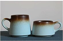 Kaffeetasse Retro Keramik Teetasse Persönlichkeit