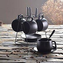 Kaffeetasse Set Einfache Keramik Zu Hause Mit
